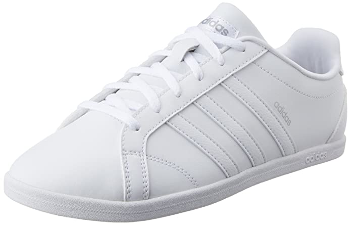 Buy Adidas neo Women's VS Coneo QT W Ftwwht and Msilve ...