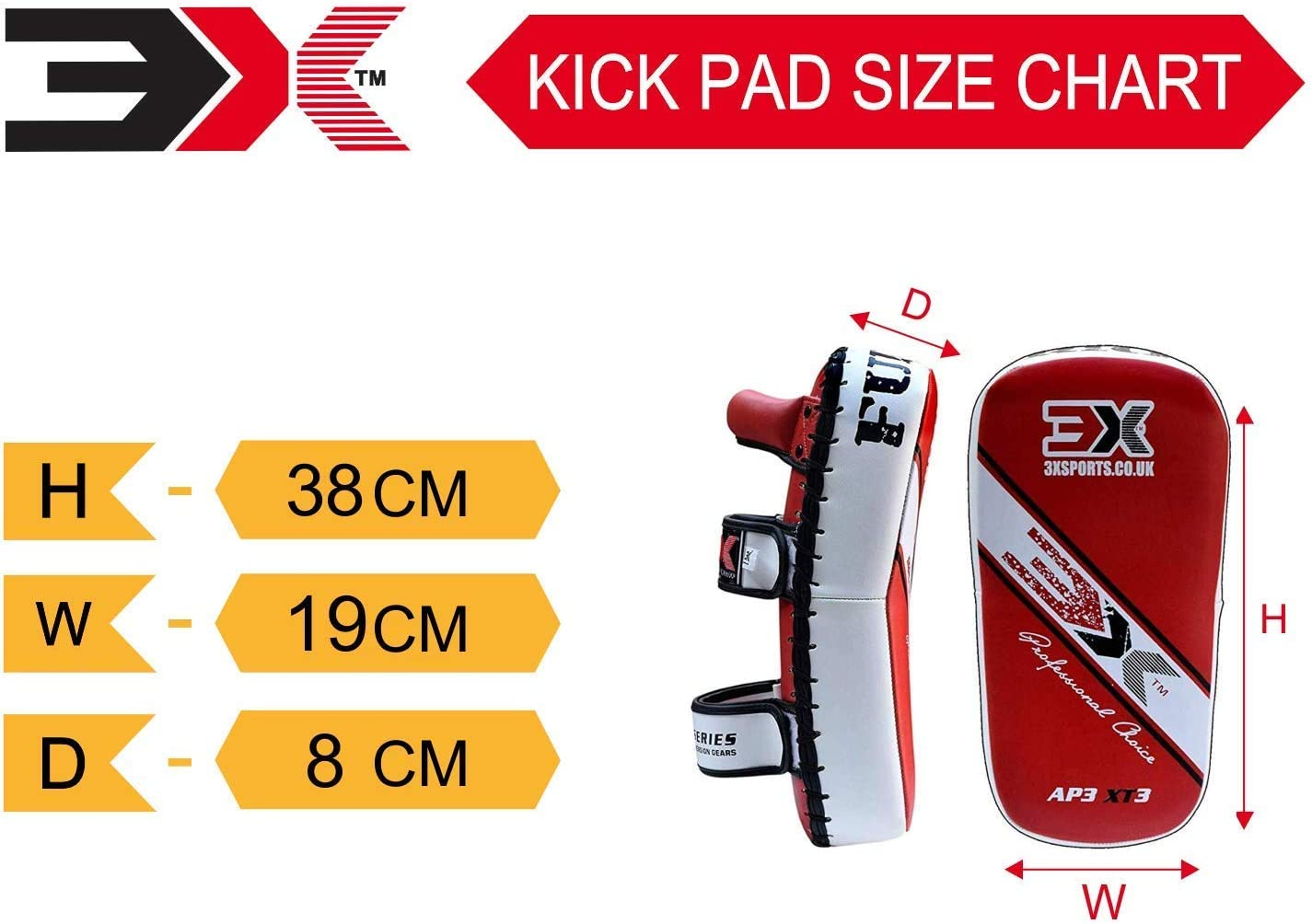 Vendido como UN Solo ART/ÍCULO 3X Professional Choice Boxeo Strike Shield Training Thai Pad Kickboxing Krav Maga MMA Target Focus Punching Mitts