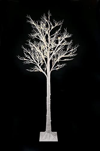 Easter tree with lights white 6ft floor standing twig tree pre easter tree with lights white 6ft floor standing twig tree pre lit with aloadofball Images