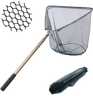 Werkzeuge Kescher fischen Portable Falten Aluminiumlegierung Griff Dreieck