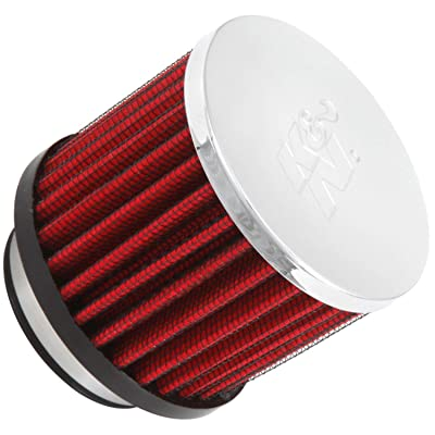 K&N Vent Air Filter/ Breather: High Performance, Premium, Washable, Replacement Engine Filter: Flange Diameter: 1.75 In, Filter Height: 2.5 In, Flange Length: 0.625 In, Shape: Breather, 62-1480: Automotive