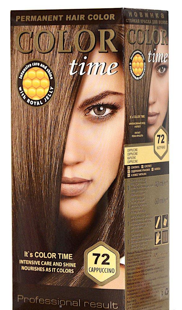 Color time, tinte permanente para el cabello de color rubio rosa claro 95 Rosa impex