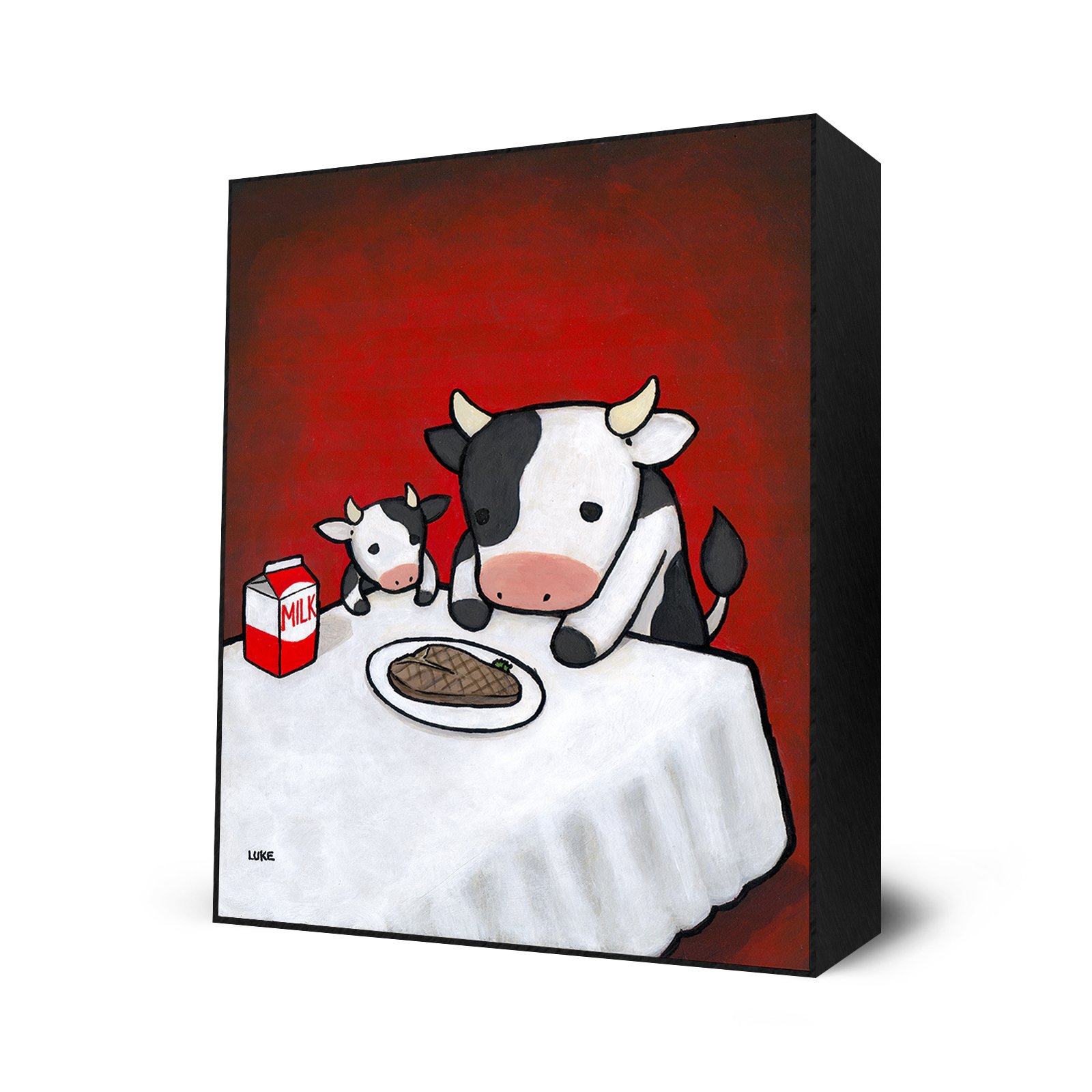 Revenge is A Dish (Cow) by Eyes On Walls