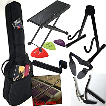 Juego de accesorios para guitarra eléctrica, E de guitarra – El más importante en un