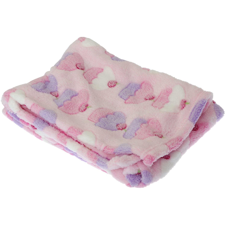 Baby Cupcake/Giraffe Design Boy/Girl Soft Pram Blanket (29 x 49 inches (approx)) (Pink/Cupcake) Universal Textiles UTBABY819_1