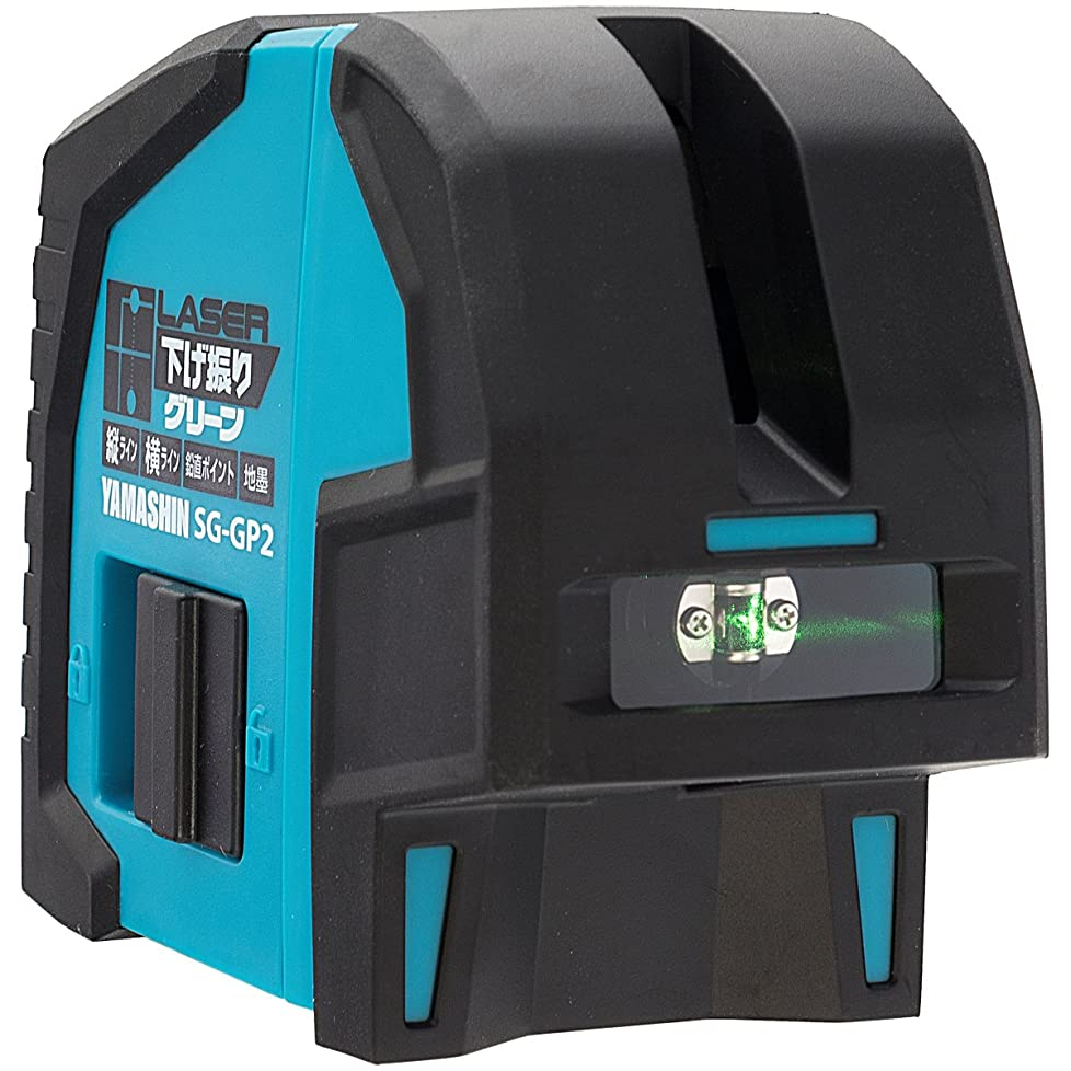 くすぐったい製造業ピケHuepar 3x360° レーザー墨出し器 グリーン 緑色 レーザー クロスライン フルライン照射モデル 自動水平 高輝度 高精度 ミニ型 3電源方式 充電可能【横フルライン1本+縦フルライン2本タイプ】603CG
