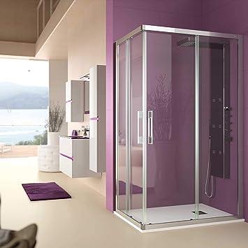 Salgar clear - Mampara clear rectangular 965-765x1950 transparente: Amazon.es: Bricolaje y herramientas