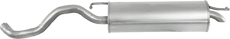 Endschalld/ämpfer Auspuff Inkl Montagesatz 1220-19893 D/ämpfer Abgasanlage