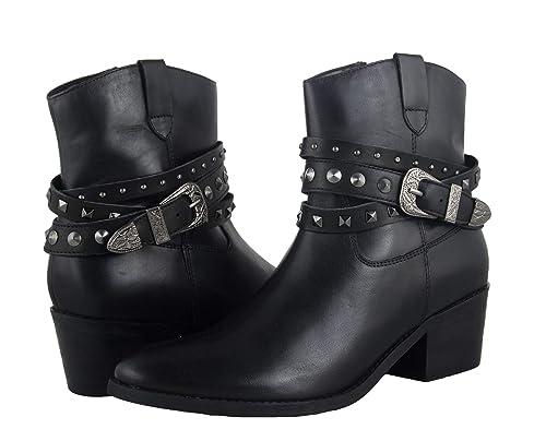 Zerimar Botines para Mujer | Botines Mujer Cowboy | Botines Mujer Piel | Botines Mujer Piel Vestir | Botines Cowboy Mujer Piel: Amazon.es: Zapatos y ...