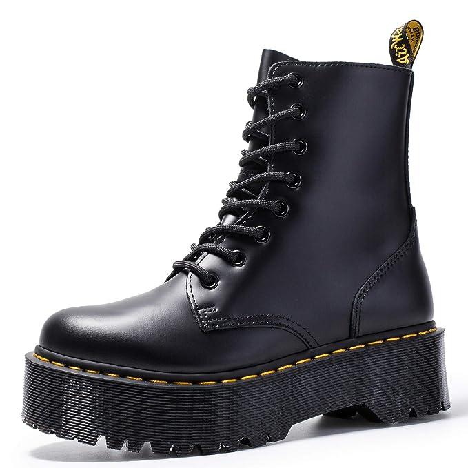 botas militares plataforma hombre