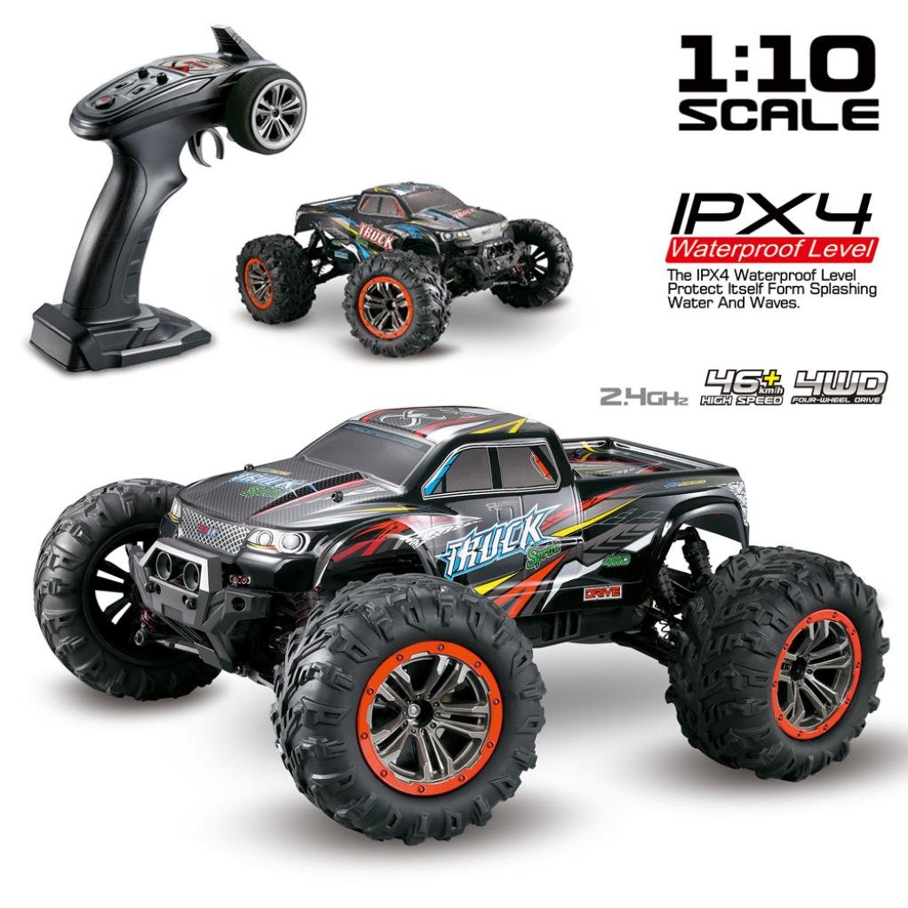 Excellent 1/10 Scale High Speed 46km/h 2.4Ghz 4WD Radio Controlled Off-road RC Car by Dreamyth