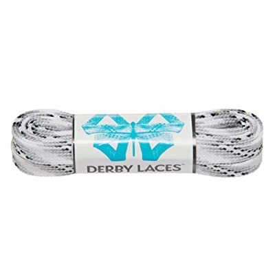 Derby Laces Smoke 60 Inch Waxed Skate Lace for Roller Derby, Hockey and Ice Skates, and Boots : Sports & Outdoors