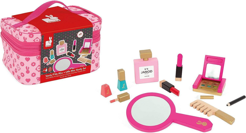 Janod - Pequeña Miss, neceser para maquillaje (Juratoys J06514): Amazon.es: Ropa y accesorios