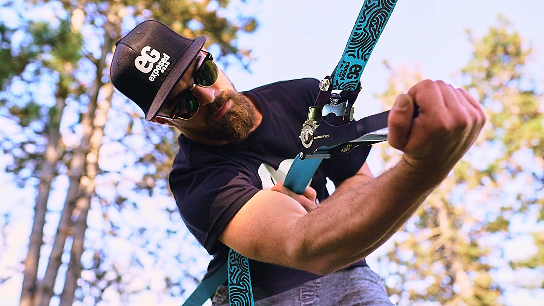 Amazon.com: Slackline Kit con protectores para árbol de ...