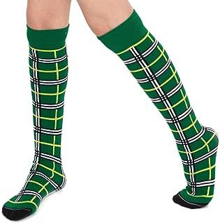 product image for Chrissy's Socks Women's Plaid Knee High Socks