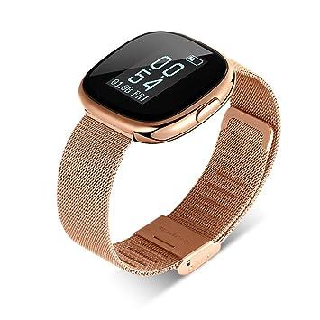 Johnson Smart Pulsera Bluetooth Smart pulsera corazón Frecuencia ...