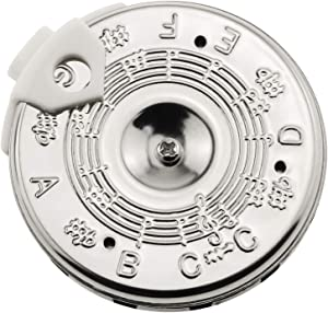 E-outstanding C-C Pitch Pipe 13 Tones Pitch Pipe 13 Note Pitch Pipe Tuner for Guitar, Erhu,Pipa,Banhu,Liuqin,Zhongruan, Violin
