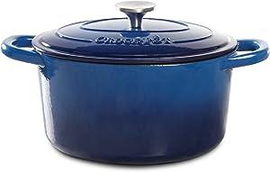 Crock-Pot-7-Quart-Enameled-Cast-Iron-Round-Dutch-Oven