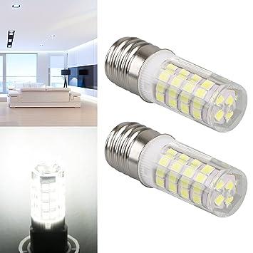 LinkStyle - 2 Bombillas LED E17 para microondas y Horno, Bombilla ...