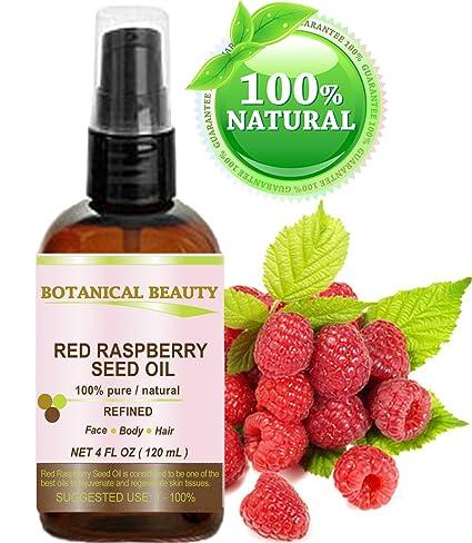 Botanical Beauty - Aceite de Semilla de Frambuesa Roja. 100% Puro / Natural /