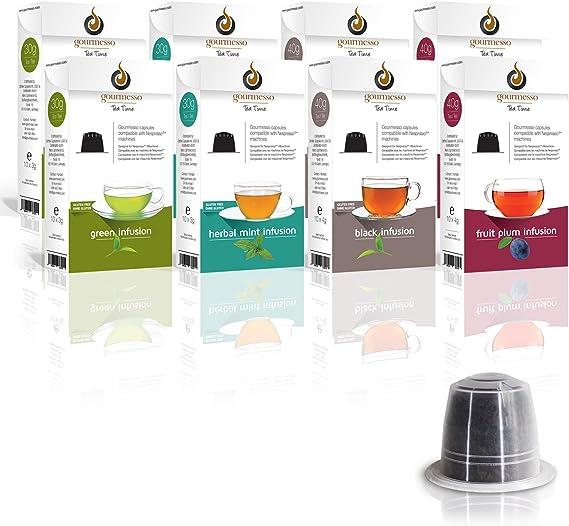 Gourmesso Infusion Bundle (80 Capsulas) - Cápsulas de café ...