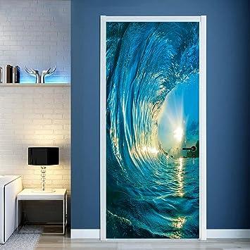 Amazoncom 3D Wall Stickers BCDshop 3D Wall Murals Nature Ocean