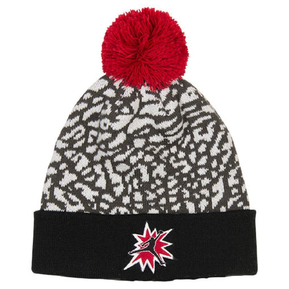 Boy's Jordan 5 Pom Beanie Hat 8/20