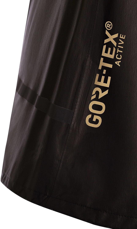 Taille 34 Super L/éger Noir GORE TEX-Active SHAKEDRY GORE RUNNING WEAR Femme Veste de Course /à Capuche Imperm/éable JGLROF ONE LADY GORE-TEX SHAKEDRY Running Jacket