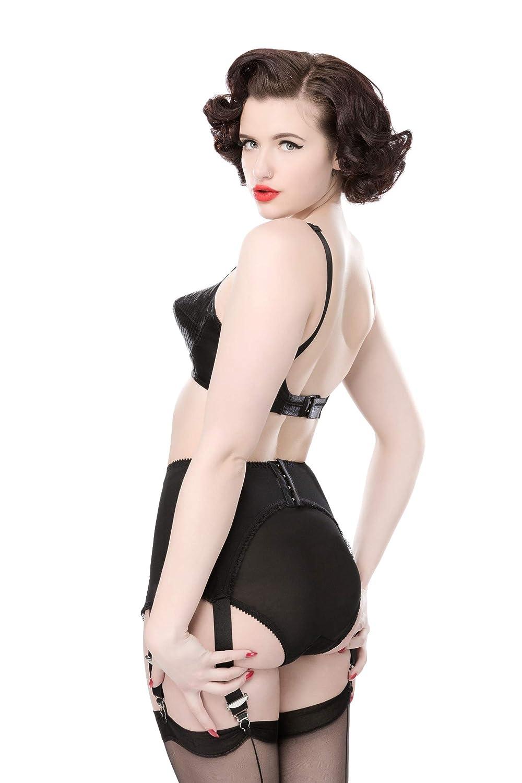 99544590f True Corset Court Royal Glamorous Retro Vintage Marilyn Spiral Stitch Bullet  Bra 1940 s 50 s at Amazon Women s Clothing store