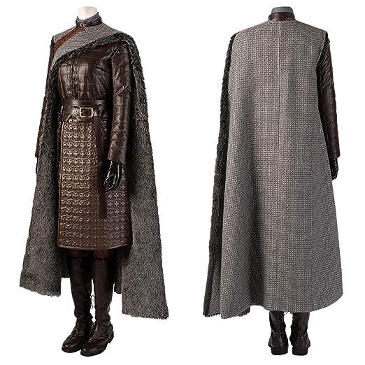 Juego de tronos 8 asesino Arya Stark Disfraz de Cosplay Mujer Tops ...