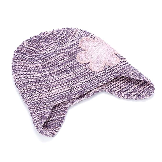 ac251a7c91a Amazon.com  Peppercorn Kids Sequin Flower Beanie- Pink- Extra Large ...