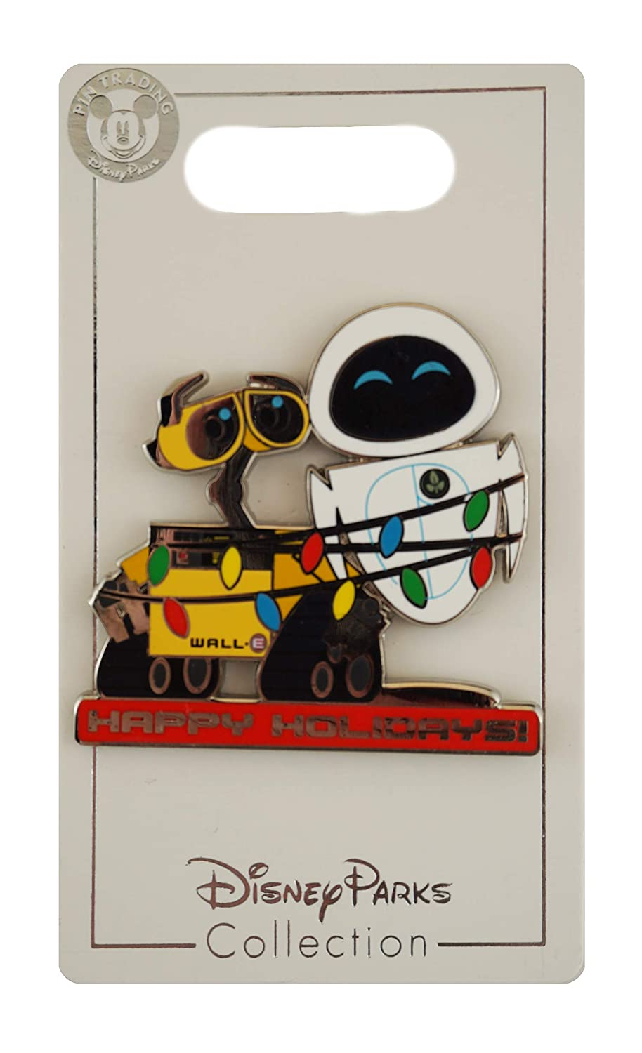 Disney Pin - WALL-E and EVE Happy Holidays