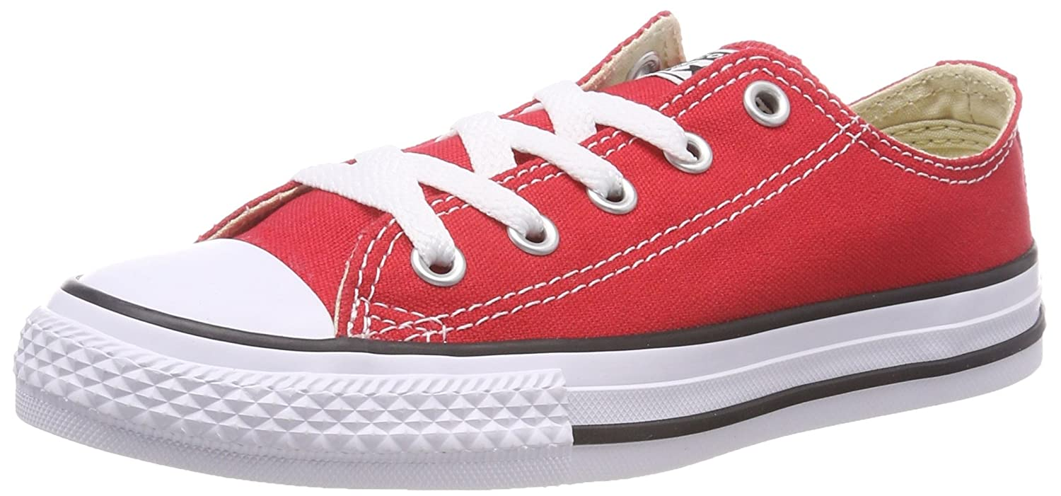 Converse Chuck Taylor All Star Season OX, Unisex Sneaker  EUR 31,5|Rot (Tomato)