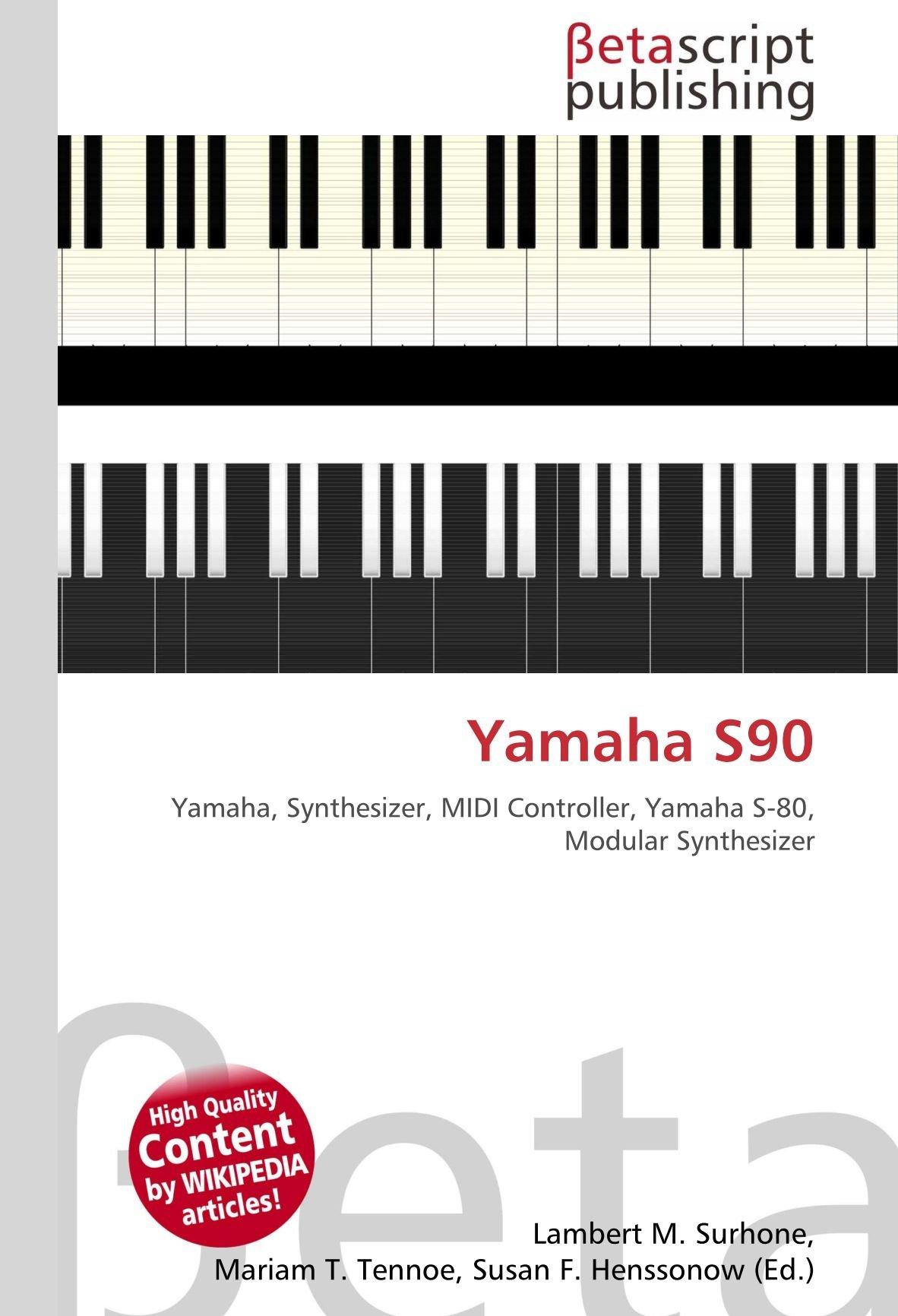 Yamaha S90: Yamaha, Synthesizer, MIDI Controller, Yamaha S-80 ...