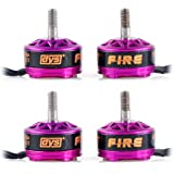 Crazepony 4pcs DYS Fire 2206 2300KV Brushless Motor 2CW 2CCW for QAV250 RX210 X210 QAV300 FPV Racing Quadcopter