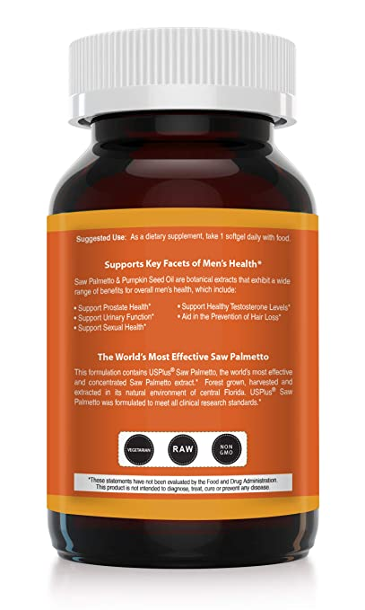 Benefits of saw palmetto sexually