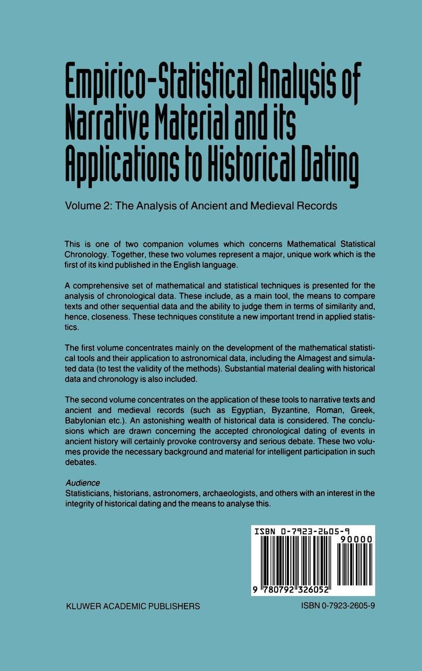ancient history dating methods