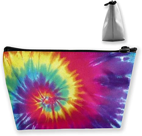Rainbow Ruby Star Zip Pouch Coin Loose Change Travel Purse Makeup Zippered Essential Oil Bridesmaid Organizer Wallet Grooming