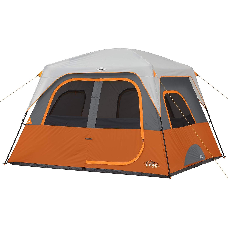 Core 4//6 Person Straight Wall Cabin Tent