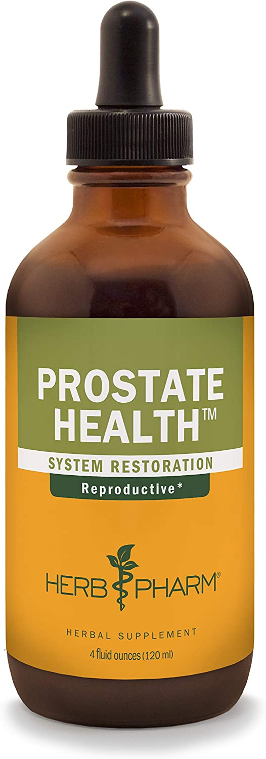 Herb Pharm Prostate Health Liquid Herbal Formula with Saw Palmetto Liquid Extract – 4 Ounce