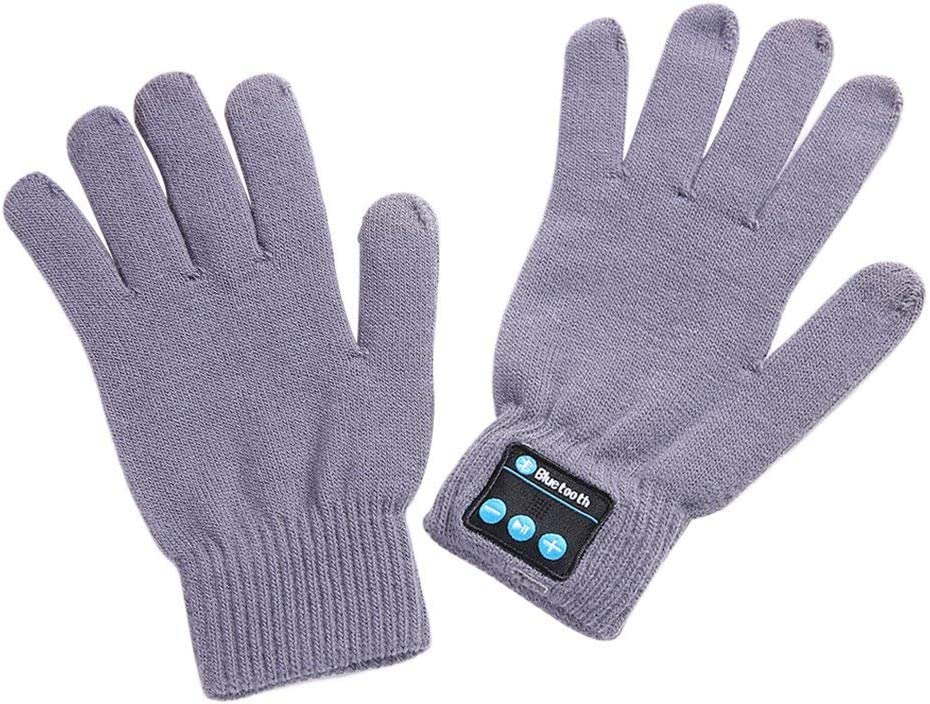 Wireless Bluetooth Call Touch Screen Gloves Mic Headset For iPhone Smart Phone