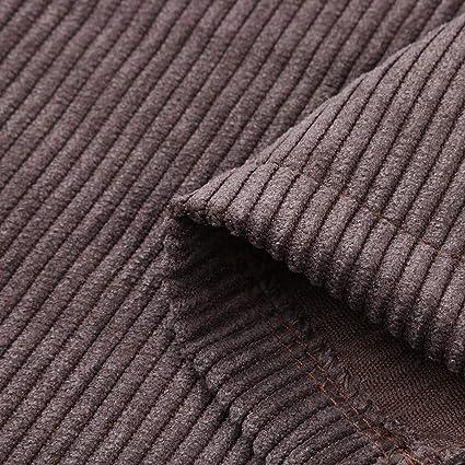 Sylar Pantalones Mujer Invierno Clásico Retro Moda Color Sólido ...