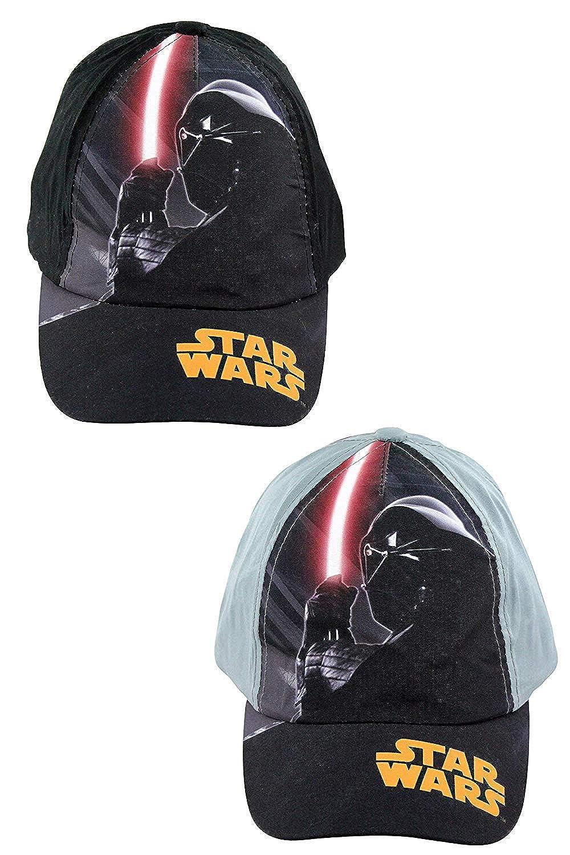 Doble Paquete de Star Wars Talla Única Niños Gorra Béisbol Trajes ...