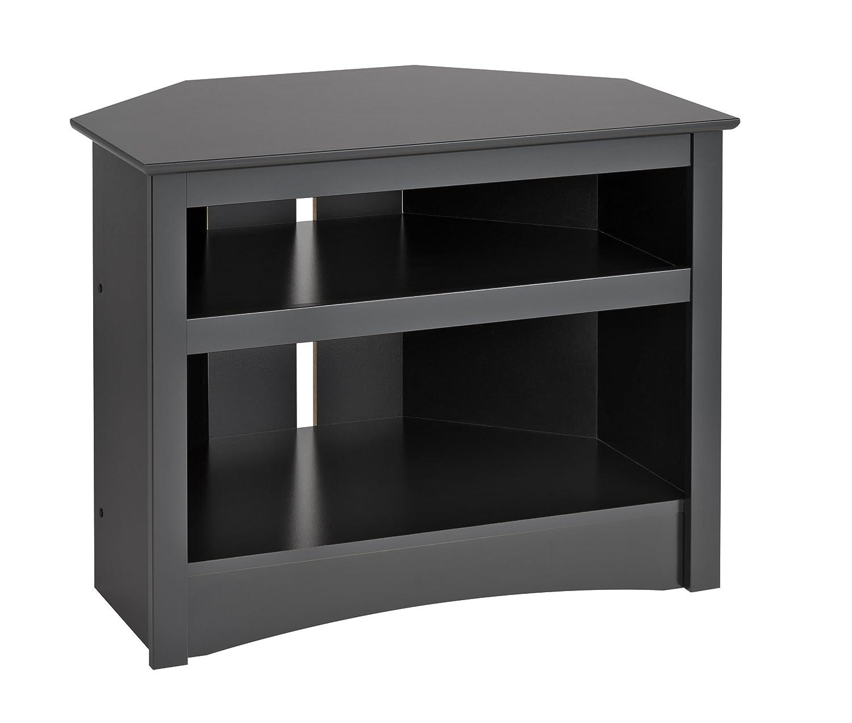 Corner Tv Unit Amazoncom Black Corner Tv Stand Kitchen Dining