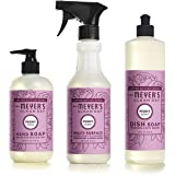 Mrs Meyers Clean Day Limited Edition Peony Scent Kitchen Basics Set