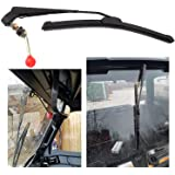 ConPus UTV Manual Wiper Hand Operated Windshield Wiper for Polaris Ranger 570 800 900 1000, Polaris RZR 800 900 1000 XP, Polari General 1000 Can Am Kawasaki Honda Pioneer Golf Cart Hand Operated Wiper