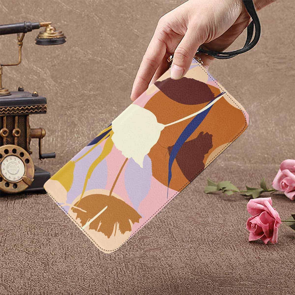 InterestPrint Womens Sunset Landscape Clutch Purse