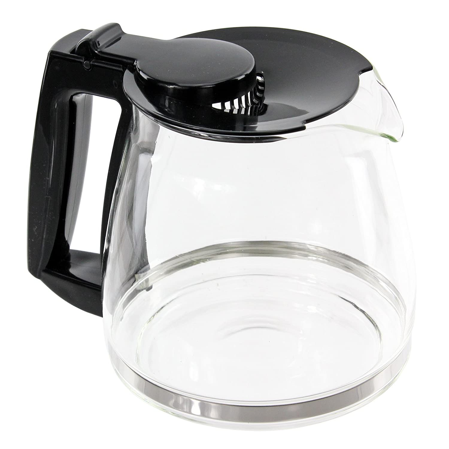 Genuine Melitta Filter Coffee Maker Glass Jug & Lid for Optima M801 M810 M818 Machines (8 Cup)