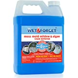 Wet & Forget Moss, Mold, Mildew, Algae Stain Remover 0.75 gal Concentrate (makes 4.5 gallons) (1)