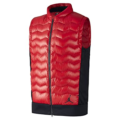 san francisco 6dc4a f082a Nike Jordan Performance Hybrid Men s Down Vest (Gym Red Black) …
